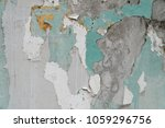 chipped paint texture with... | Shutterstock . vector #1059296756