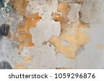 white paint texture chipping on ... | Shutterstock . vector #1059296876