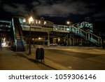 vintage chicago elevated cta... | Shutterstock . vector #1059306146