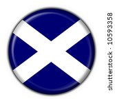 Stock photo scotland button flag round shape 10593358