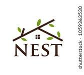 Logotype Of Nest Vector Logo...