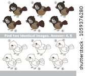 the educational kid matching... | Shutterstock .eps vector #1059376280
