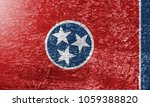 The Texture Of  Tennessee Flag...