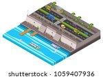 Riverside City Isometric 3d...