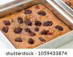 chocolate brownies with...   Shutterstock . vector #1059433874