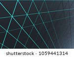 abstract 3d minimalistic... | Shutterstock . vector #1059441314