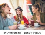 friends enjoying in... | Shutterstock . vector #1059444803