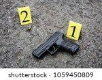 outdoor crime scene...   Shutterstock . vector #1059450809