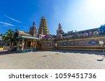 pathirakali amman temple ... | Shutterstock . vector #1059451736