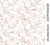 Floral Seamless Pattern. Soft...