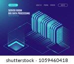 cloud server room concept  data ... | Shutterstock .eps vector #1059460418