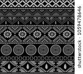 seamless native pattern... | Shutterstock . vector #1059478646