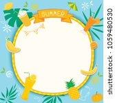 illustration vector of summer...   Shutterstock .eps vector #1059480530