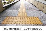 sidewalk guides for blind... | Shutterstock . vector #1059480920
