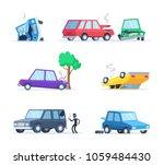 vector pictures set of... | Shutterstock .eps vector #1059484430