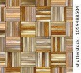 parquet floor texture  3d... | Shutterstock . vector #1059488504