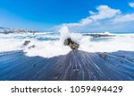 puerto de la cruz  tenerife ... | Shutterstock . vector #1059494429