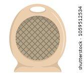 portable fan icon. flat...   Shutterstock .eps vector #1059512534