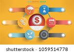 business and marketing info... | Shutterstock .eps vector #1059514778