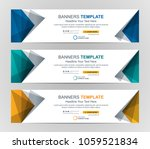 abstract web banner design... | Shutterstock .eps vector #1059521834