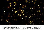 gold abstract glitter isolated... | Shutterstock . vector #1059525020