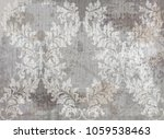 vector damask pattern element.... | Shutterstock .eps vector #1059538463