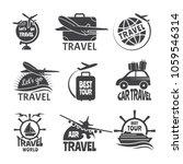 vector label or logos forma... | Shutterstock .eps vector #1059546314