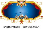 a circus label for you | Shutterstock .eps vector #1059565064