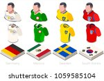russia 2018 world cup soccer... | Shutterstock .eps vector #1059585104