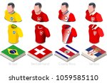 russia 2018 soccer world cup... | Shutterstock .eps vector #1059585110