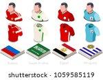 russia 2018 world cup football. ... | Shutterstock .eps vector #1059585119