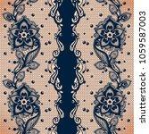 vector abstract seamless... | Shutterstock .eps vector #1059587003