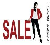 big sale vector | Shutterstock .eps vector #1059599120