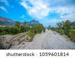 the river in leonidio town in... | Shutterstock . vector #1059601814