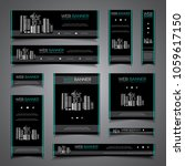 business presentation card... | Shutterstock .eps vector #1059617150