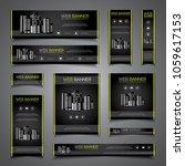 business presentation card... | Shutterstock .eps vector #1059617153