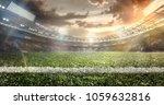 sport background. empty grand... | Shutterstock . vector #1059632816