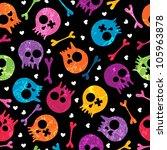 multicolor seamless pattern... | Shutterstock .eps vector #105963878