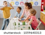 saving precious memories.... | Shutterstock . vector #1059640313
