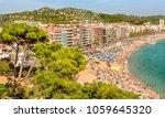 lloret de mar  costa brava ... | Shutterstock . vector #1059645320