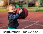 cute little baby boy young... | Shutterstock . vector #1059646523