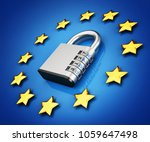 general data protection... | Shutterstock . vector #1059647498