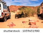 expeditionary suv rides near... | Shutterstock . vector #1059651980