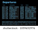 Departures And Arrivals Airpor...