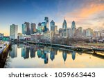downtown skyline of... | Shutterstock . vector #1059663443