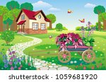 vector illustration of a... | Shutterstock .eps vector #1059681920