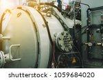 gas industrial installation... | Shutterstock . vector #1059684020