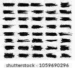ink scribble or scratches ... | Shutterstock .eps vector #1059690296