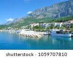 village of tucepi at makarska...   Shutterstock . vector #1059707810