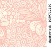 vector seamless pattern with... | Shutterstock .eps vector #1059712130